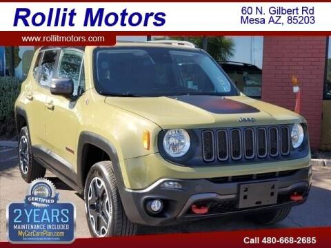 2015 Jeep Renegade for sale at Rollit Motors in Mesa AZ