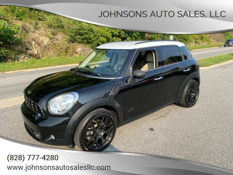 2012 MINI Cooper Countryman for sale at Johnsons Auto Sales, LLC in Marshall NC