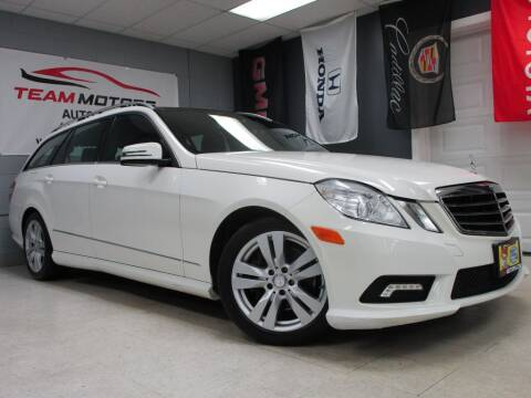 2011 Mercedes-Benz E-Class for sale at TEAM MOTORS LLC in East Dundee IL