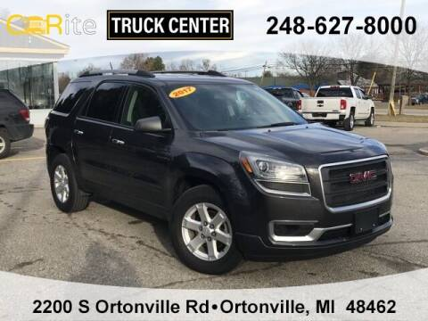 2016 GMC Acadia for sale at Carite Truck Center in Ortonville MI