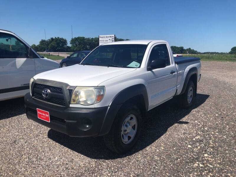 2011 Toyota Tacoma for sale at COUNTRY AUTO SALES in Hempstead TX