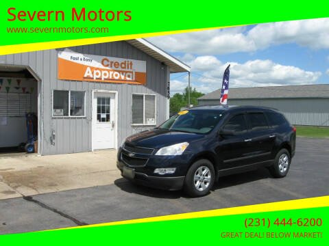 2010 Chevrolet Traverse for sale at Severn Motors in Cadillac MI