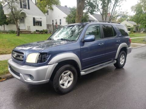 2001 Toyota Sequoia for sale at REM Motors in Columbus OH