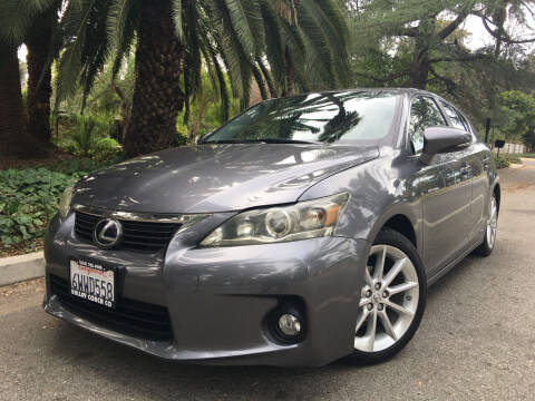 2012 Lexus CT 200h for sale at Valley Coach Co Sales & Lsng in Van Nuys CA