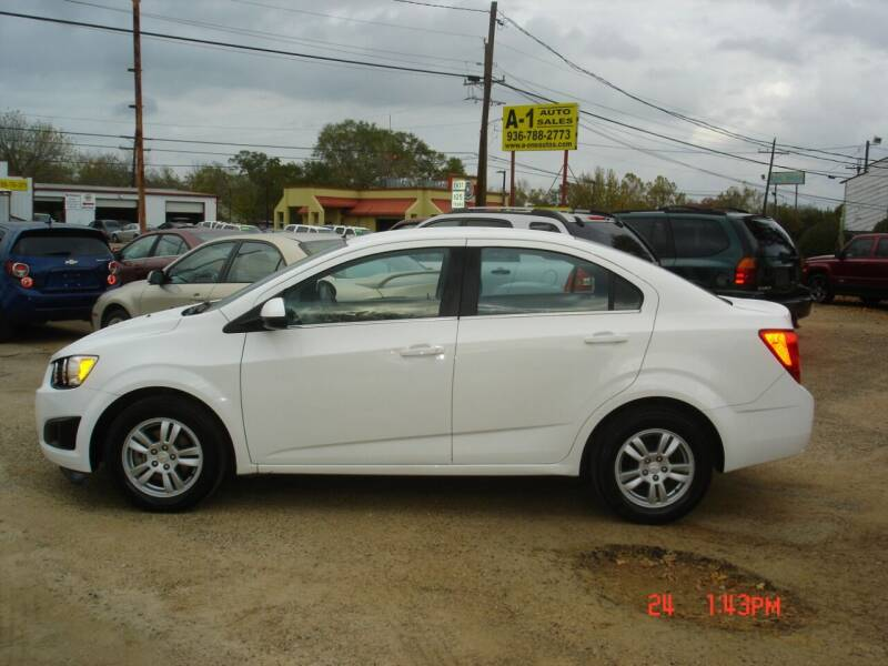 2014 Chevrolet Sonic for sale at A-1 Auto Sales in Conroe TX