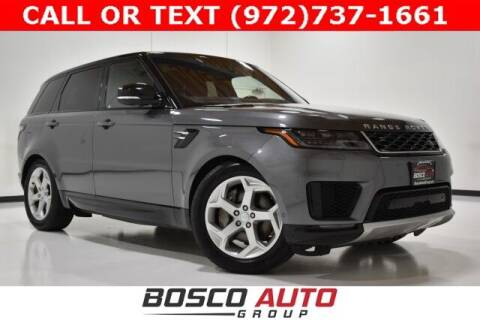 2018 Land Rover Range Rover Sport for sale at Bosco Auto Group in Flower Mound TX