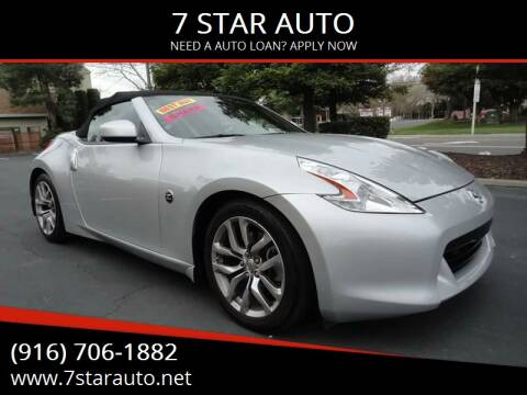 2010 Nissan 370Z for sale at 7 STAR AUTO in Sacramento CA