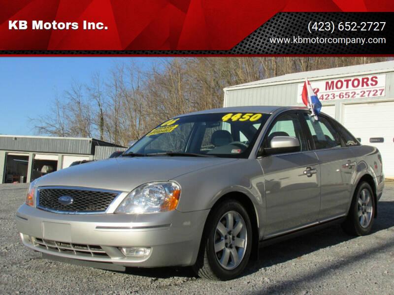 2006 Ford Five Hundred for sale at KB Motors Inc. in Bristol VA