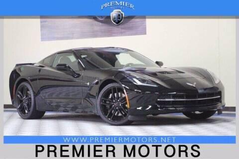 2017 Chevrolet Corvette for sale at Premier Motors in Hayward CA