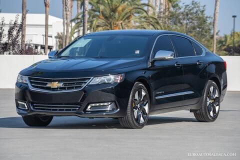 2019 Chevrolet Impala for sale at Euro Auto Sales in Santa Clara CA