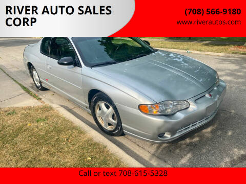 2001 Chevrolet Monte Carlo for sale at RIVER AUTO SALES CORP in Maywood IL