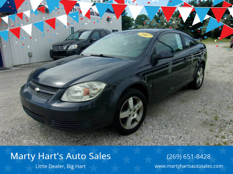 2008 Chevrolet Cobalt for sale at Marty Hart's Auto Sales in Sturgis MI