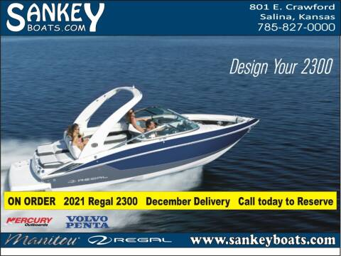 2021 Regal 2300 for sale at SankeyBoats.com in Salina KS