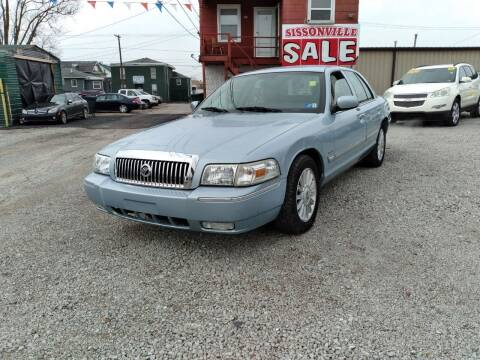2010 Mercury Grand Marquis for sale at Sissonville Used Cars in Charleston WV
