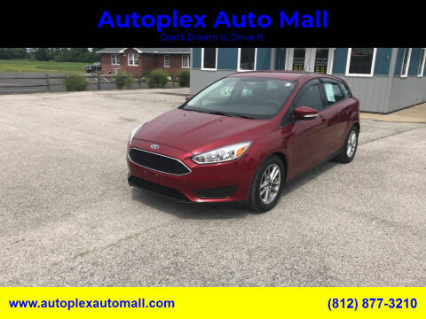 2016 Ford Focus for sale at Autoplex Auto Mall in Terre Haute IN