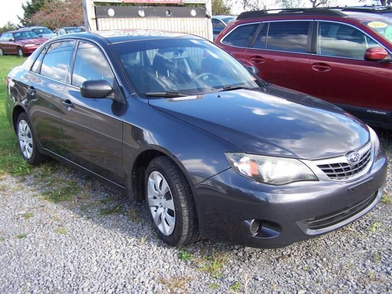 2009 Subaru Impreza for sale at B & J Auto Sales in Tunnelton WV