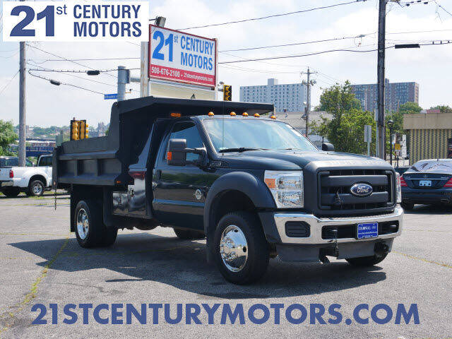 2013 Ford F-550 Super Duty for sale at 21st Century Motors in Fall River MA