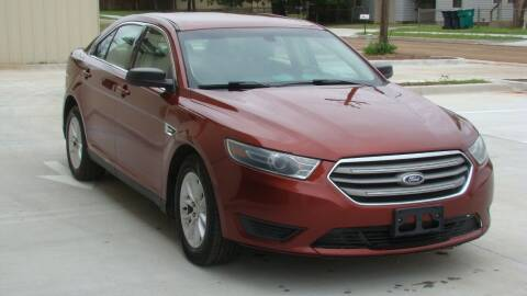 2014 Ford Taurus for sale at Red Rock Auto LLC in Oklahoma City OK