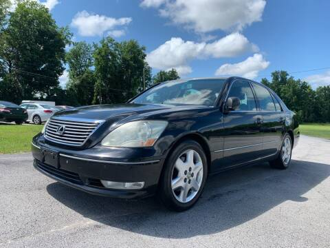2004 Lexus LS 430 for sale at IH Auto Sales in Jacksonville NC