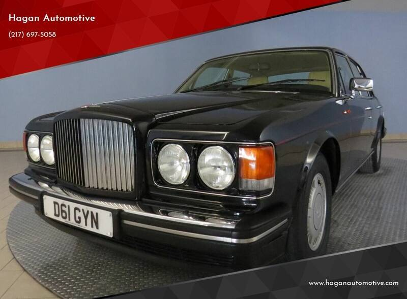 1987 Bentley Turbo R for sale at Hagan Automotive in Chatham IL