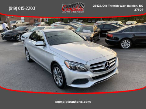 2015 Mercedes-Benz C-Class for sale at Complete Auto Center , Inc in Raleigh NC