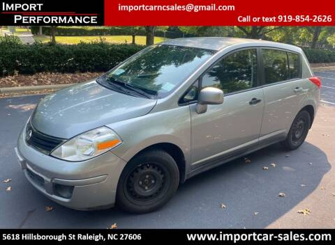 2011 Nissan Versa for sale at Import Performance Sales in Raleigh NC