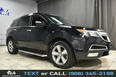 2012 Acura MDX for sale at AUTO HOLDING in Hillside NJ