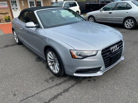 2015 Audi A5 for sale at Suburban Wrench in Pennington NJ