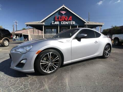 2015 Scion FR-S for sale at LUNA CAR CENTER in San Antonio TX