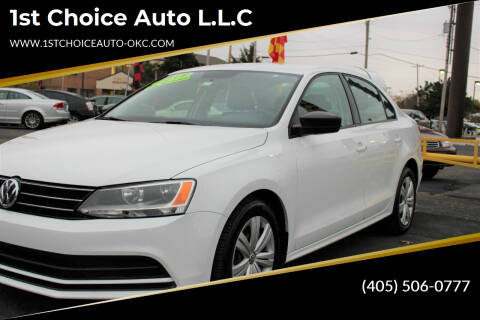 2015 Volkswagen Jetta for sale at 1st Choice Auto L.L.C in Oklahoma City OK