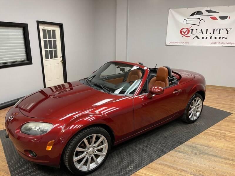 2007 Mazda MX-5 Miata for sale at Quality Autos in Marietta GA