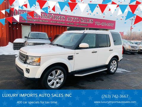 2015 Land Rover LR4 for sale at LUXURY IMPORTS AUTO SALES INC in North Branch MN