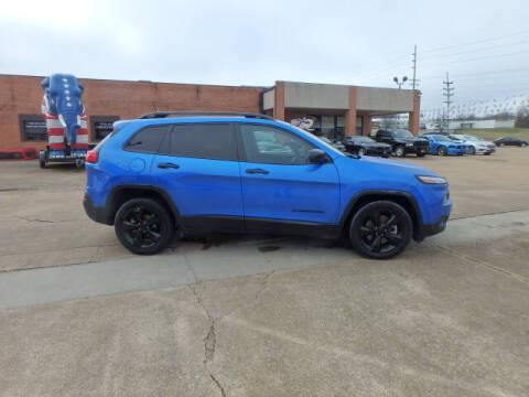 2017 Jeep Cherokee for sale at BLACKWELL MOTORS INC in Farmington MO