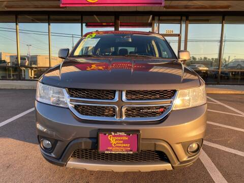 2013 Dodge Journey for sale at Greenville Motor Company in Greenville NC
