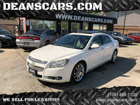 2008 Chevrolet Malibu for sale at DEANSCARS.COM in Bridgeview IL