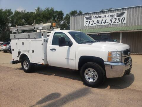 2008 Chevrolet Silverado 3500HD CC for sale at Midwest Auto of Siouxland, INC in Lawton IA