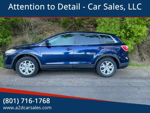 2012 Mazda CX-9 for sale at Attention to Detail - Car Sales, LLC in Ogden UT