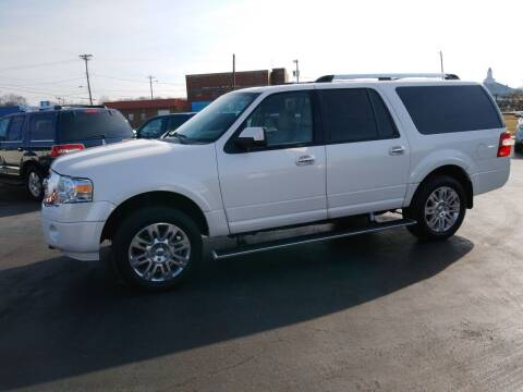 2012 Ford Expedition EL for sale at Big Boys Auto Sales in Russellville KY