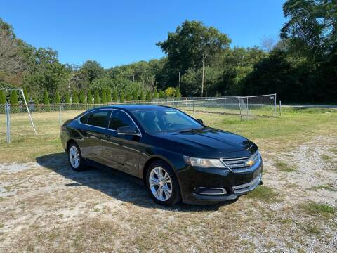 2014 Chevrolet Impala for sale at Tennessee Valley Wholesale Autos LLC in Huntsville AL