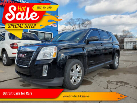 2014 GMC Terrain for sale at Detroit Cash for Cars in Warren MI