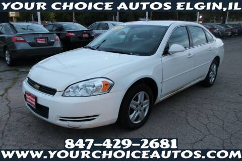 2008 Chevrolet Impala for sale at Your Choice Autos - Elgin in Elgin IL