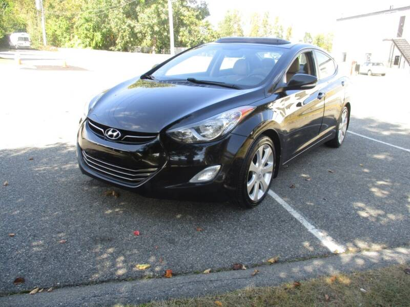 2012 Hyundai Elantra for sale at Route 16 Auto Brokers in Woburn MA