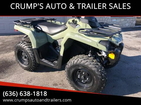 2019 Can Am Outlander for sale at CRUMP'S AUTO & TRAILER SALES in Crystal City MO