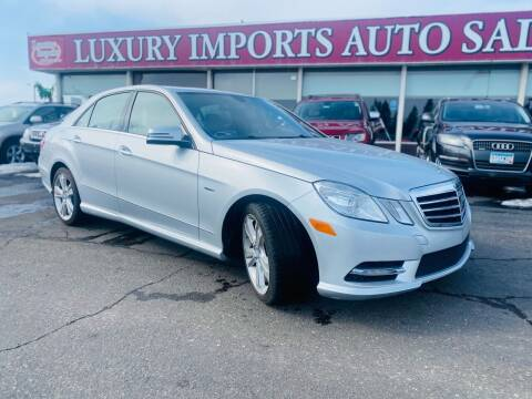2012 Mercedes-Benz E-Class for sale at LUXURY IMPORTS AUTO SALES INC in North Branch MN