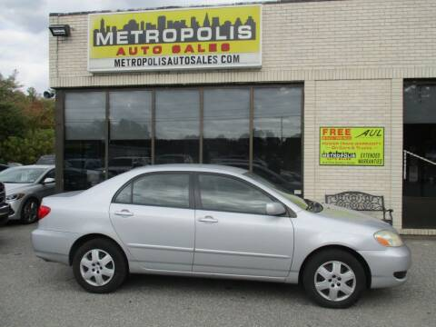 2005 Toyota Corolla for sale at Metropolis Auto Sales in Pelham NH