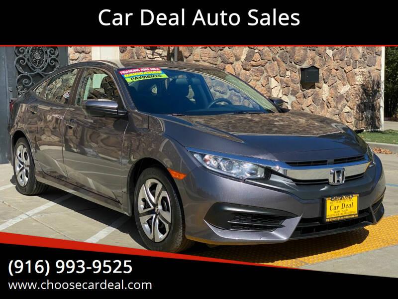 2018 Honda Civic for sale at Car Deal Auto Sales in Sacramento CA