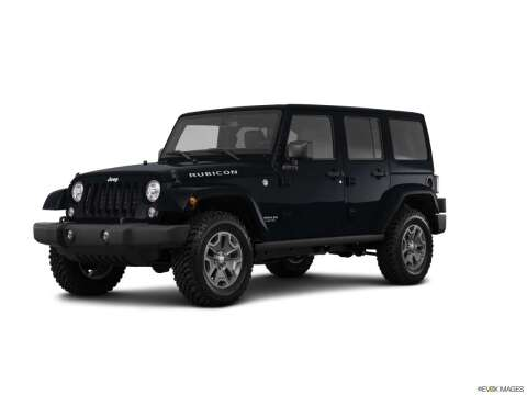 2017 Jeep Wrangler Unlimited for sale at West Motor Company in Preston ID