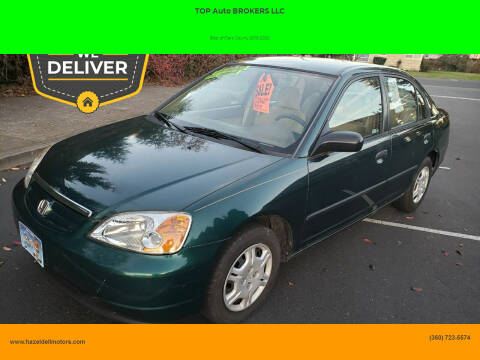 2001 Honda Civic for sale at TOP Auto BROKERS LLC in Vancouver WA