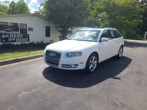 2007 Audi A4 for sale at TR MOTORS in Gastonia NC