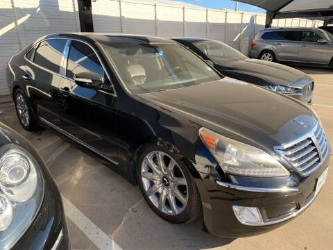 2012 Hyundai Equus for sale at Excellence Auto Direct in Euless TX